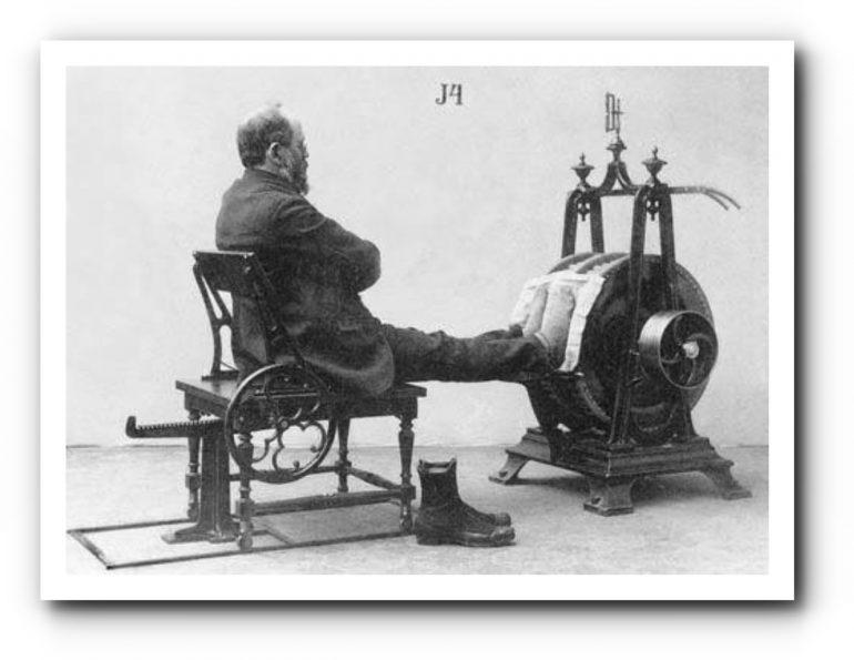 История медицины — Механотерапия 6